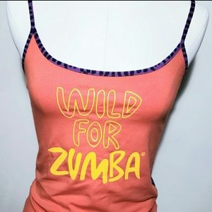 Zumba Fitness Wild For Zumba Athletic Tank Top M